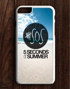 5 Second Of Summer Beach iPhone 6 Plus | 6S Plus Case