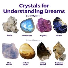 Crystals And Gemstones, Stones And Crystals, Gemstone Beads, Crystal Magic, Crystal Healing Stones, Wiccan, Witchcraft, Understanding Dreams, Eclectic Witch