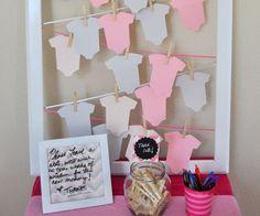 Baby shower creative ideas! #babyshower #baby #ideas #diy #beautiful #creative
