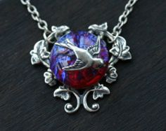 dragons breath fire opal necklace fab jewelry. Black Bedroom Furniture Sets. Home Design Ideas