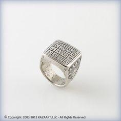 Used Tuareg Silver Talisman Ring Magic Koranic QuRanic Script Mali Africa   eBay