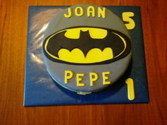 Tarta decorada Batman / Batman cake