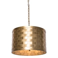Evoke texture and sophisticated style in your space with the geometry and luminance of the Foley Old Gold Drum Pendant from Illumina. Made from quality metal for strength and resilience. Drum Pendant, Gold Pendant, Sophisticated Style, Cool Lighting, Design Trends, Things To Come, Pendants, Ceiling Lights, Display