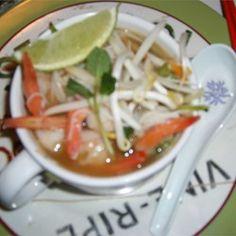 Grilled Shrimp Rice Noodle Bowl - Allrecipes.com