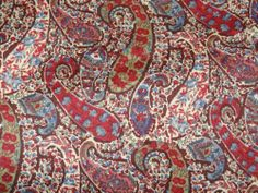 "LIBERTY PRINTS ""BOURTON"" 3 metre paisley cotton tana lawn designer fabric"