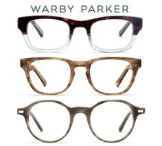Warby Parker...for every pair of glasses you buy, they donate a pair to someone in need.  Love that...
