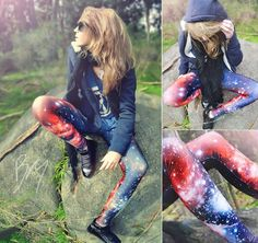 Look: Galaxy Leggings