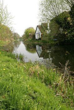 River Welland, Cambridgeshire, England
