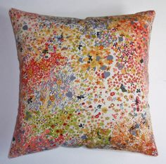 Throw Pillow Cover  16x16 sewn with Pitter by PersnicketyHome, $12.00
