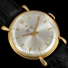 1940'S Rolex Precision Vintage Mens Dress Watch REF 4516 18K Gold | eBay
