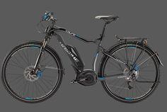 Con cierto estilo para cicloturismo puedes encontrar la e-bike Haibike XDURO Trekking RX, la cual te puede ofrecer asistencia eléctrica por si requieres apoyo adicional en tu próximo paseo.