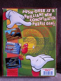 Jeux Atari ST -> Push Over