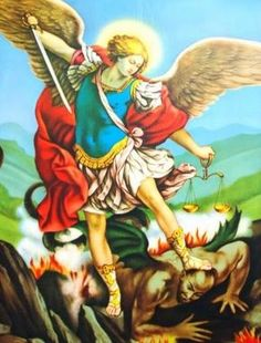 Oracion de SAN MIGUEL ARCANGEL para perdonar y ser perdonado