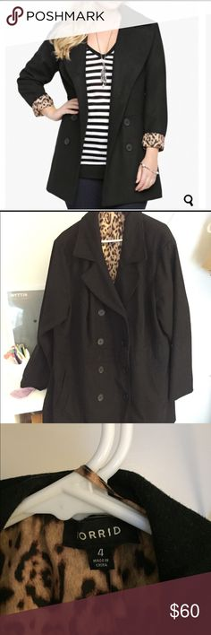 Final Price Drop! Size 4 Torrid peacoat No loose or missing buttons, no wear or tear, still in perfect condition. Worn less than a handful of times because I hate winter jackets even though I live in New Hampshire.   Size 4: from Torrid. Comfortable and warm. From clean, smoke free, cat friendly home.  ✨FREE shipping when you bundle this with another item✨ torrid Jackets & Coats Pea Coats