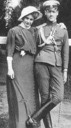 Michael and Natasha. The last tsar? Nicholas did abdicate while in captivity, but Michael, even though named, was never crowned, and soon after, was murdered by the bloody communist bolsheviks.