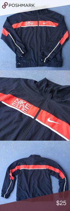 5f629ec6163 Black and red Nike Windbreaker Jacket Black and red Nike Windbreaker Jacket Excellent  condition No stains