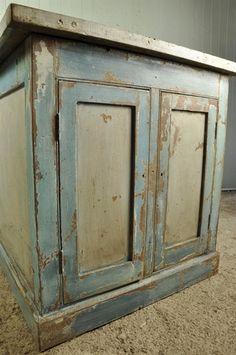 Painted English Cupboards - Vintage Furniture - Original House
