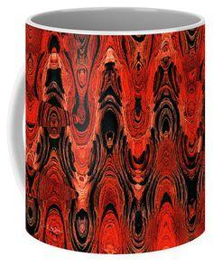 Sand Erosion Abstract Coffee Mug by Tom Janca.  Small (11 oz.)