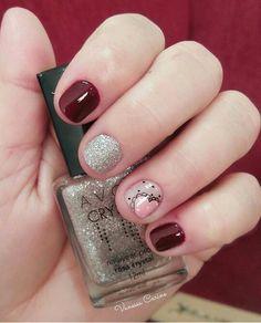 Uñitas Magic Nails, Manicure And Pedicure, Pretty Nails, Flower Designs, Nail Colors, Nail Designs, Lily, Nail Art, Makeup