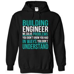 (New Tshirt Great) Building Engineer [Tshirt design] Hoodies
