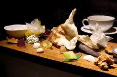 Dessert at the award winning, must visit Bo.Lan restaurant in Bangkok, Thailand.