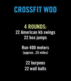 Crossfit workout (WOD).  My time: 29:04
