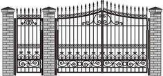 Hasil gambar untuk кованные ворота