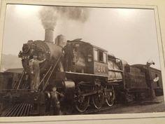 1930s-NYO-W-New-York-ONTARIO-WESTERN-RAILROAD-ENGINE-244-Photo-Steam