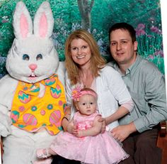 Bass Pro Easter Bunny