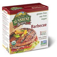 Gluten Free Barbecue Veggie Burger