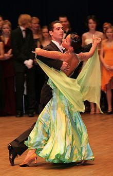 Okay, so we don't look like this, but my husband and I thoroughly enjoy Ballroom lessons, and it's a real workout!