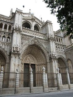 Cathedral of Toledo. Toledo, Spain