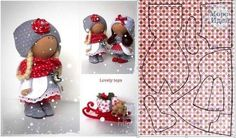 Gallery.ru / Фото #64 - шьем :: куклы 3 - semynova