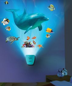 Another great find on #zulily! Dolphin Voyage Wild Wall Decal Set by Uncle Milton #zulilyfinds