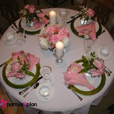 Tablescape: Mothers Day Dinner Tablesetting