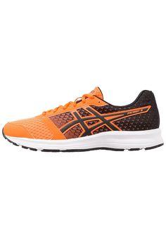 Köp  ASICS PATRIOT 8 - Neutrala löparskor - hot orange/black/white för 599,00 kr (2017-07-31) fraktfritt på Zalando.se