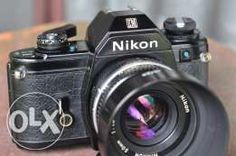 Vintage Film Camera Nikon EM w/ Nikkor 50mm 1.8 AiS (Mint Condition)
