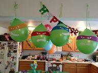 teenage mutant ninja turtles party ideas - Google Search