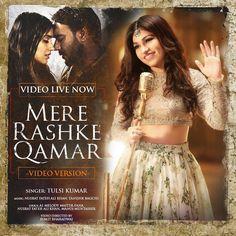Here it is guys ! #VideoVersion of #MereRashkeQamar .. Hope u like it