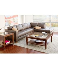 Superbe Milano Leather 2 Piece Chaise Sectional Sofa   Sectional Sofas   Furniture    Macyu0027s | HOME | Pinterest | Sofa Furniture, Couch Sofa And Leather  Sectional ...