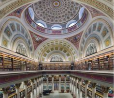 National Library of Finland in Helsinki, Finland. Another reason Helsinki is on the top of my list of must-see places! The Places Youll Go, Places To See, Voyager C'est Vivre, Beautiful Library, Jolie Photo, Amazing Architecture, Library Architecture, Barcelona Cathedral, Beautiful Places