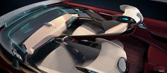 BMW i7 Concept - Interior Design Sketch