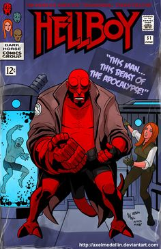 TLIID 190. Hellboy in Fantastic Four 51 by AxelMedellin on deviantART