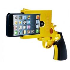Golden Hand Gun iPhone 5 Case