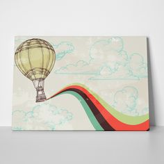 Canvas print HOT AIR BALLONS by Sticky!!!