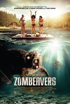 Why should you go and see Zombeavers, the new horror-comedy which chews its way into theatres March 20? Well, personally, I think the fact that director Jordan Rubin's filmconcerns zombiefied beavers would be enough to have all right-thinking people rushing to their local cinema (also, it's pretty darned amusing). But those still on the fence—or dam—might care to note that the film boasts a cameo from John Mayer.