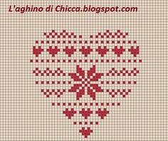 Xmas Cross Stitch, Cross Stitch Kitchen, Cross Stitch Pictures, Cross Stitch Heart, Cross Stitching, Embroidery Hearts, Christmas Embroidery, Cross Stitch Embroidery, Cross Stitch Designs