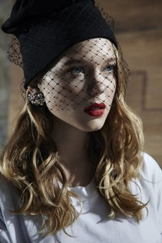 4be007d0148 Nose Veil Hat  a feature of female costume from antiquity