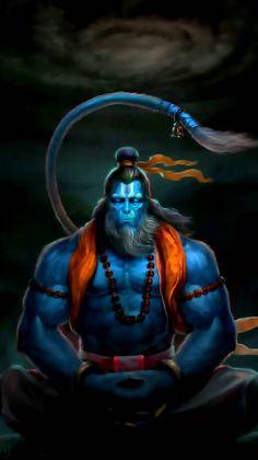 Rudrarup hanuman wallpaper by mayankPatadia - - Free on ZEDGE™ Hanuman Pics, Hanuman Images, Hanuman Chalisa, Hanuman Tattoo, Shree Krishna, Lord Vishnu, Lord Ganesha, Hindus, Hanuman Ji Wallpapers