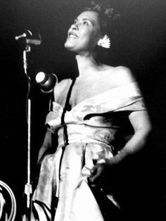 one jazz love. Billie Holiday.